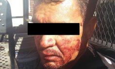Tunden a golpes a presunto ladrón en Zona Centro