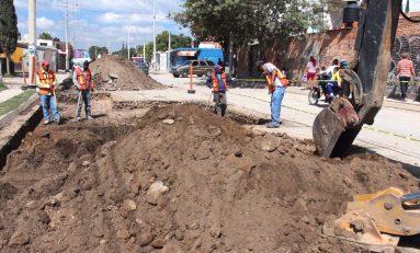 Obras públicas rehabilita las avenidas Mexquitic, 99 y calle Altamirano