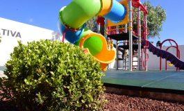 Entregan área recreativa en Los Agaves 5