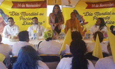 DIF Soledense conmemoró Día Mundial de la Lucha contra la Diabetes