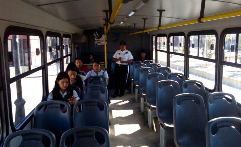 Aumenta transporte público, cuesta 50 centavos más