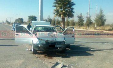 Accidente en Jassos, una mujer lesionada y cuantiosos daños materiales