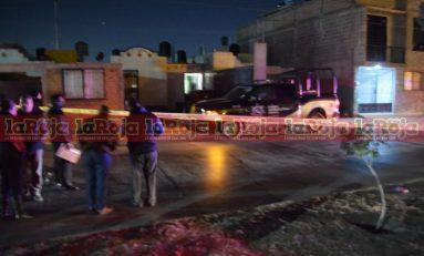 Asesinan a dos policías estatales en el Fraccionamiento La Virgen