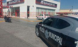 Frustran asalto a cuentahabientes en sucursal de Acceso Norte