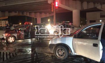 3 lesionados en choque de crucero de SNM y Chapultepec