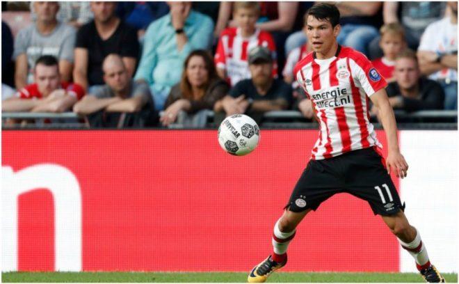 Hirving Lozano da triunfo al PSV y es líder de goleo