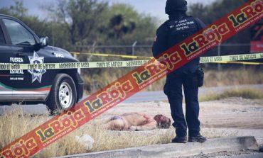 Localizan cadáver de hombre con signos de ejecución y tortura por Parque Industrial