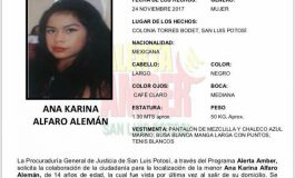 Niña desaparecida de 14 años fue la que asesinaron el sábado