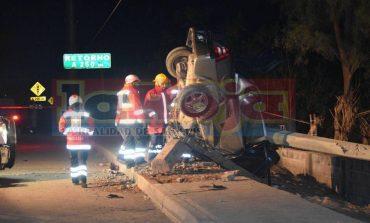 Dos personas muertas en terrible choque en Periférico Oriente