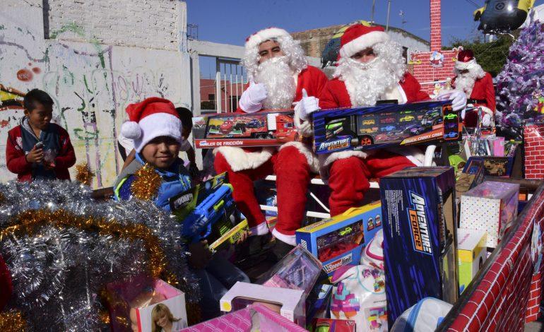 Reclu-juguetón entregó más de 1200 sonrisas a niños y niñas soledenses