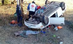 Trágico accidente carretero en la libre de Rioverde a  SLP