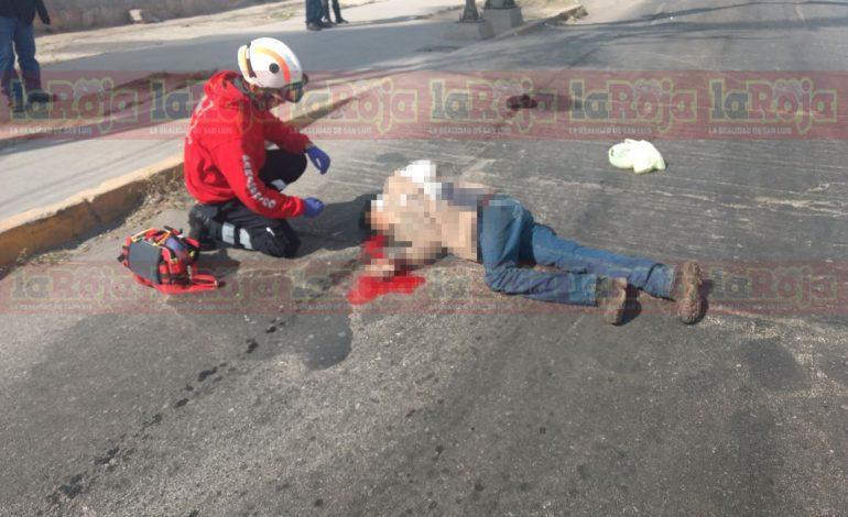 Tráiler arrolla y mata a ciclista en la 57