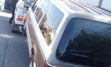 Detienen a pareja de ladrones, acusados de presunto robo a casa habitación en El Llano