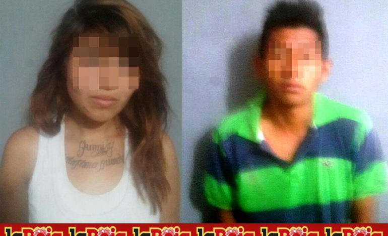 Detienen a pareja por allanar domicilio en Colonia Santa Mónica