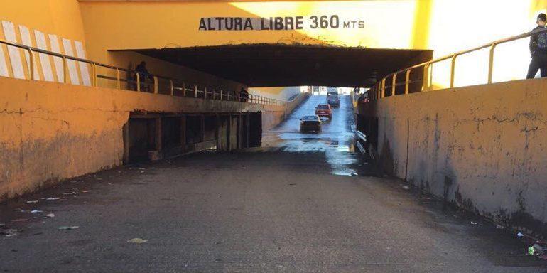 Sin solución encharcamientos en Puente Othón; pidamos para que esté en los propósitos de Interapas del 2018