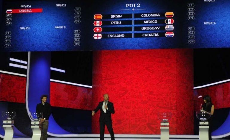 México en el grupo F con Alemania, Suecia y Corea del Sur