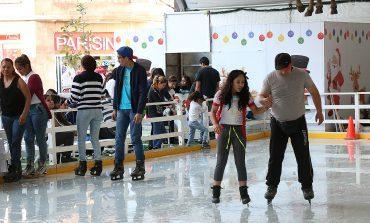 Anuncian pista de hielo en Los Fundadores, hasta el 14 de enero