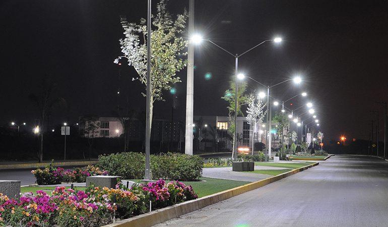Avanza la sustitución de alumbrado público por lámparas LED