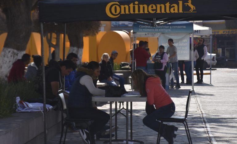 GM ofreció 150 vacantes en jornada laboral en Soledad