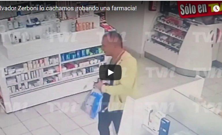 Captan a actor de Televisa ¡robando crema antiedad!