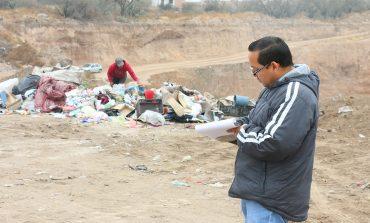 Ayuntamiento implementó operativo en tiradero clandestino de La Angostura
