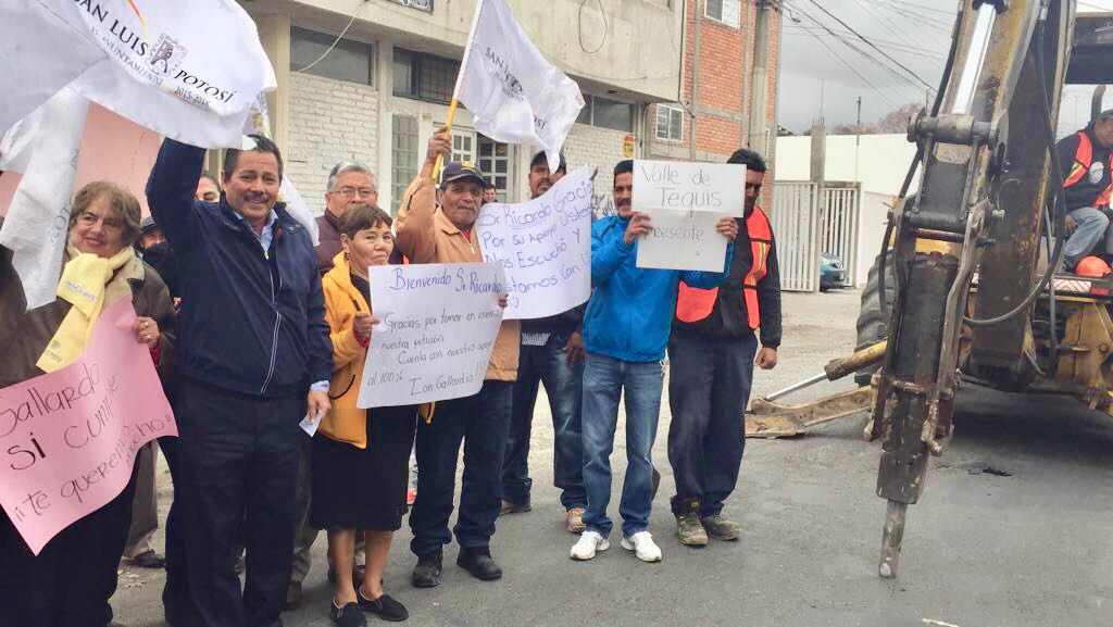 Alcalde RGJ da arranque a rehabilitación integral de la calle García Diego