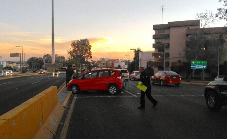 Llueven accidentes automovilísticos en la Ciudad