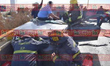 Un muerto y cuatro heridos en aparatosa carambola en Carretera 57