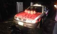 Dejan 5 cabezas humanas sobre taxi en Tlacotalpan, Veracruz