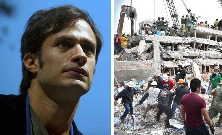 Víctimas de sismo acusan a Gael García de fraude, y él les responde así….