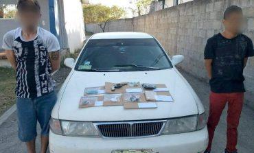 Capturan a ladrones de vehículos en Ciudad Valles, iban bien armados