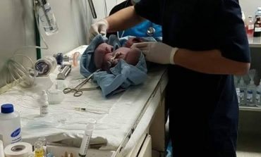 Niña, la primer potosina en nacer en el 2018