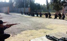 Inician capacitación teórica y práctica en uso de armas a oficiales municipales