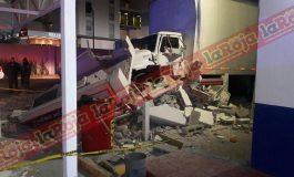 Destrozan cajero automático, autoridades difieren sobre el hecho