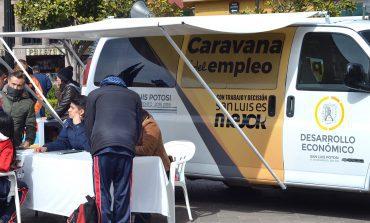 Caravana del Empleo ha ofertado 7 mil 900 vacantes de empleo a potosinos