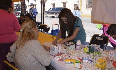 Jornada de Salud del DIF Soledense benefició principalmente  a niños