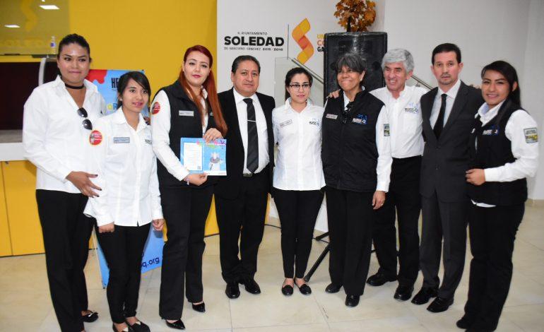 """Firma Soledad convenio con Fundación """"Rino Q"""""""