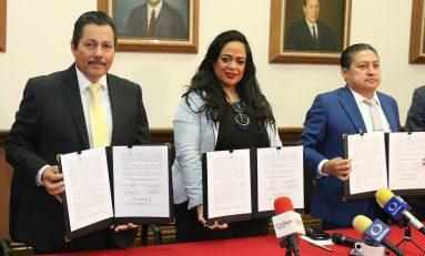 SLP y SGS firman convenio de acceso a la justicia con Colegio de Abogados