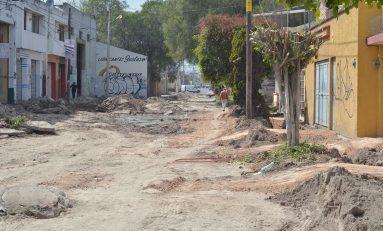 Alcalde RGJ supervisa primera fase de obras en García Diego