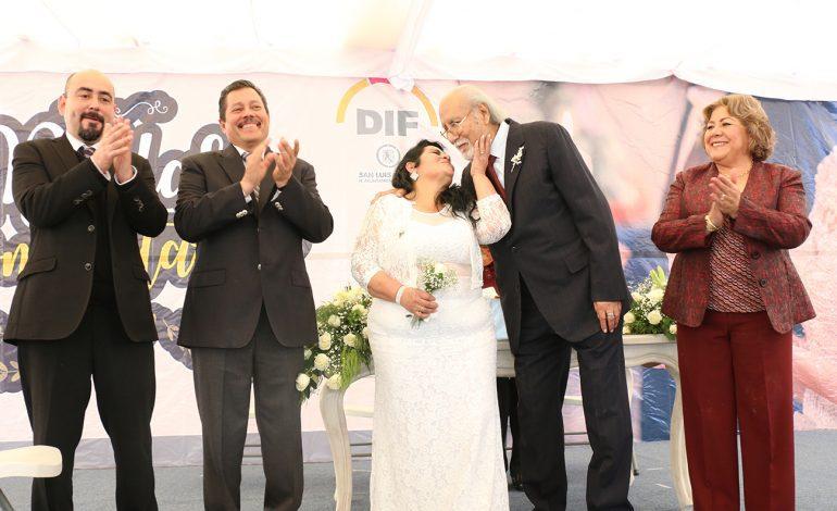 """Ayuntamiento de la Capital lleva a cabo el evento """"Matrimonios Simultáneos"""" (Galería)"""