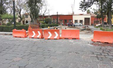 En quince días, estará listo el primero de cuatro cruces vehiculares en la Calzada de Guadalupe