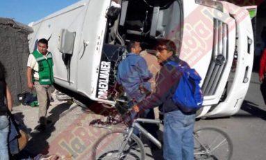 Asciende a cinco, los muertos por choque entre tren y transporte de personal; chofer en calidad de detenido