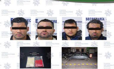 """Cuatro narcomenudistas fueron detenidos con """"cristal"""""""