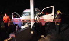 Se accidentó otra unidad de transporte de personal, 5 resultan heridos