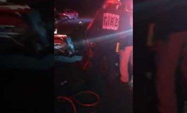 Conductor queda prensado tras aparatoso accidente en Carretera a Matehuala