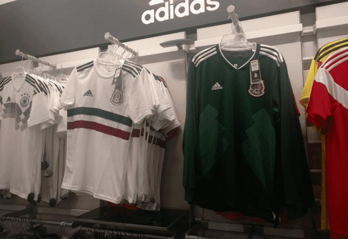 Filtran uniforme de visitante de México en Rusia 2018