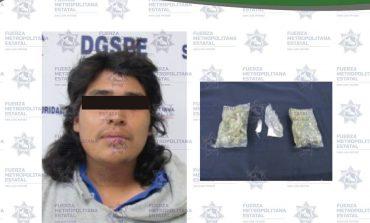 Detienen a narcomenudista y ladrón de autos en la Zona Metropolitana