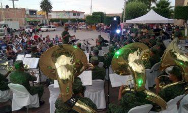 Ofrecerá concierto la Banda de Música de la IV Región Militar en inicio de la FENAE 2018
