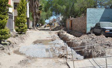 Obra de Avenida García Diego presenta importantes avances