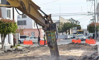 Inicia segunda etapa de pavimentación en calle García Diego